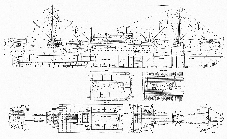MAR DEL PLATA   Compagnie Maritime Belge Slr-ms-hheine-1936-dsr-plan1